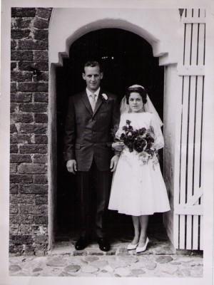 Lis og Kajs brudebillede