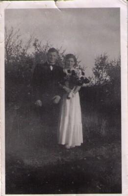 Edith og Krestens Bryllup 1943