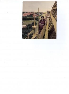 Erna 1954 på Kirketaget