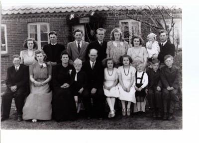 Jenny og Bernhard Bertelsen Sølvbryllup 1948