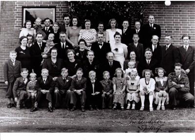 Karen og Søren Bertelsen Guldbryllup 1949
