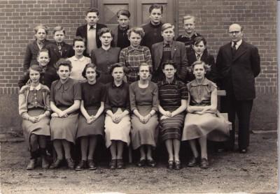 Konfirmander Lihme 1954