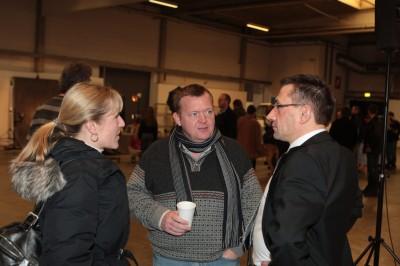 Lars Løkke og Michael