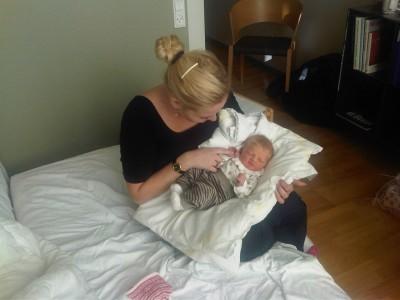 Tante Tanja med lille Else